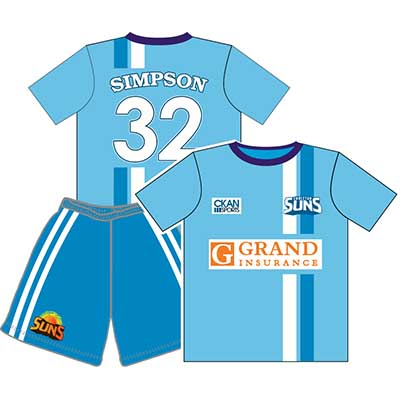Custom made soccer uniforms and Soccer jerseys in Perth, Australia - Mad Dog Promotions - Perth